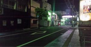 奄美大島の夜の街